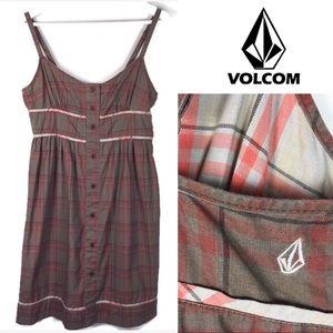 Volcom plaid dress